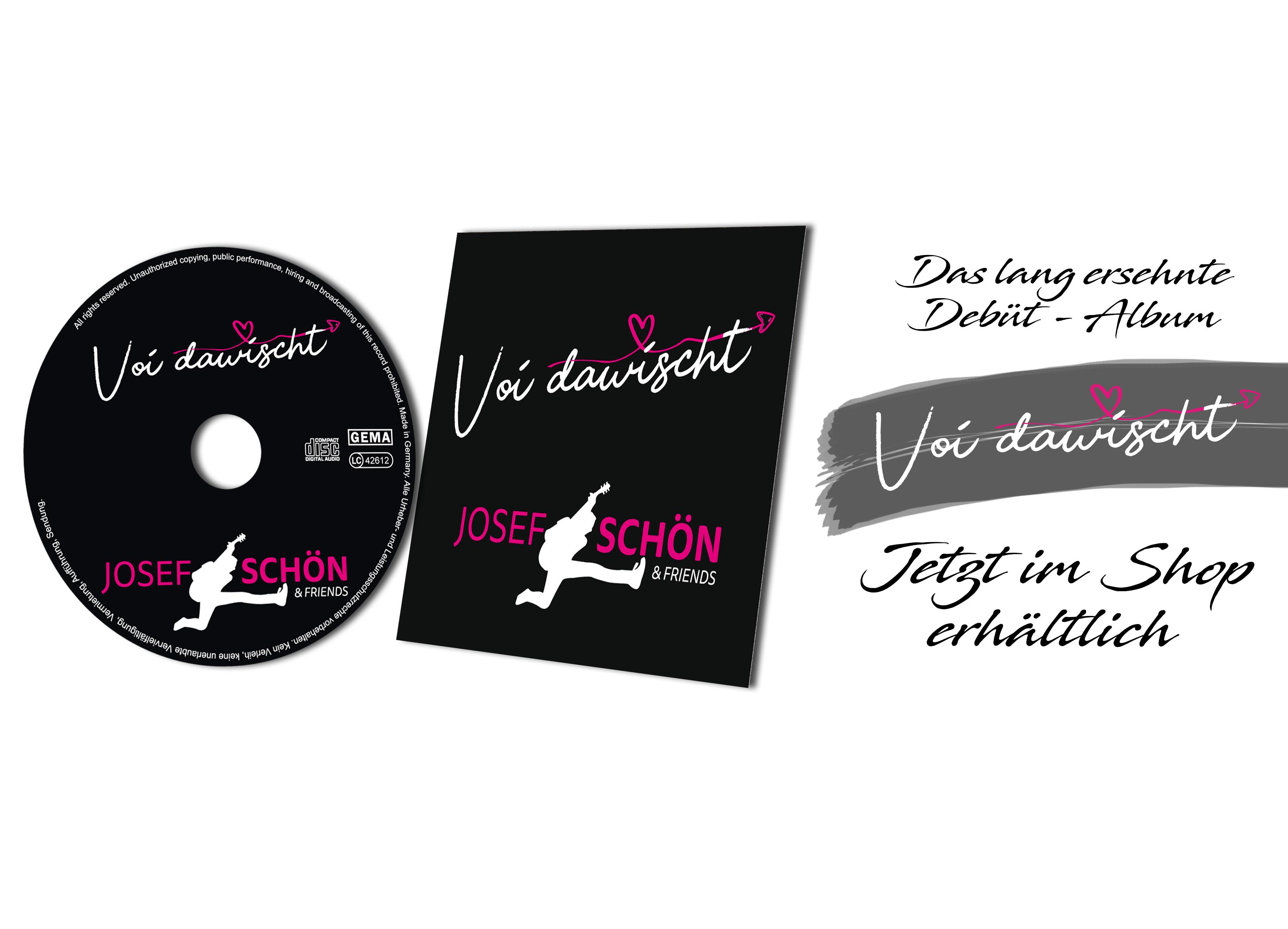 Josef Schön and Friends CD Release Ab jetzt erhätltch