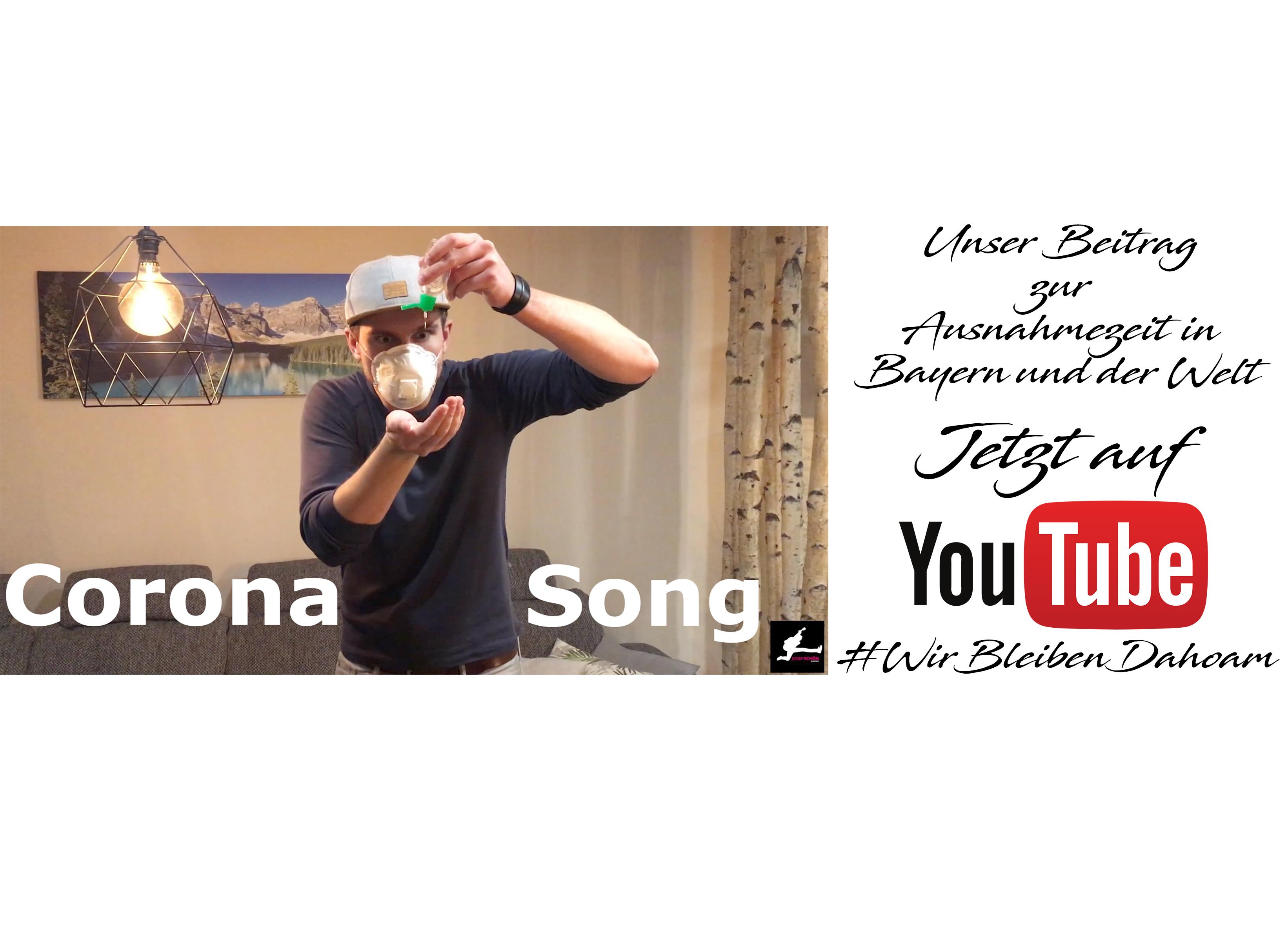 Josef Schön - Corona Song - Jetzt auf YouTube